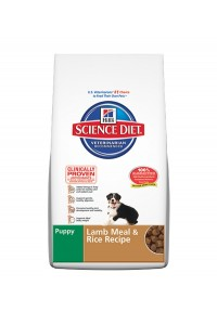Science Diet Puppy Dog Lamb Meal and Rice