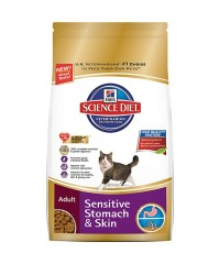 Science Diet Adult Cat Sensitive Stomach and Skin